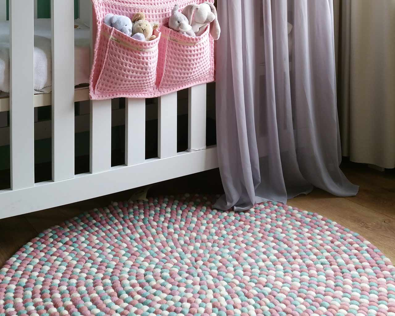 Baby Room Carpet Pastel Colors 2