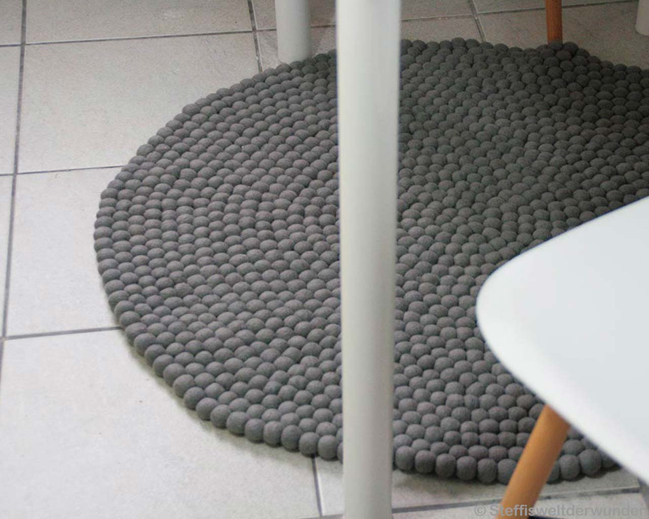 Grey Carpet Stone Flooring White 2