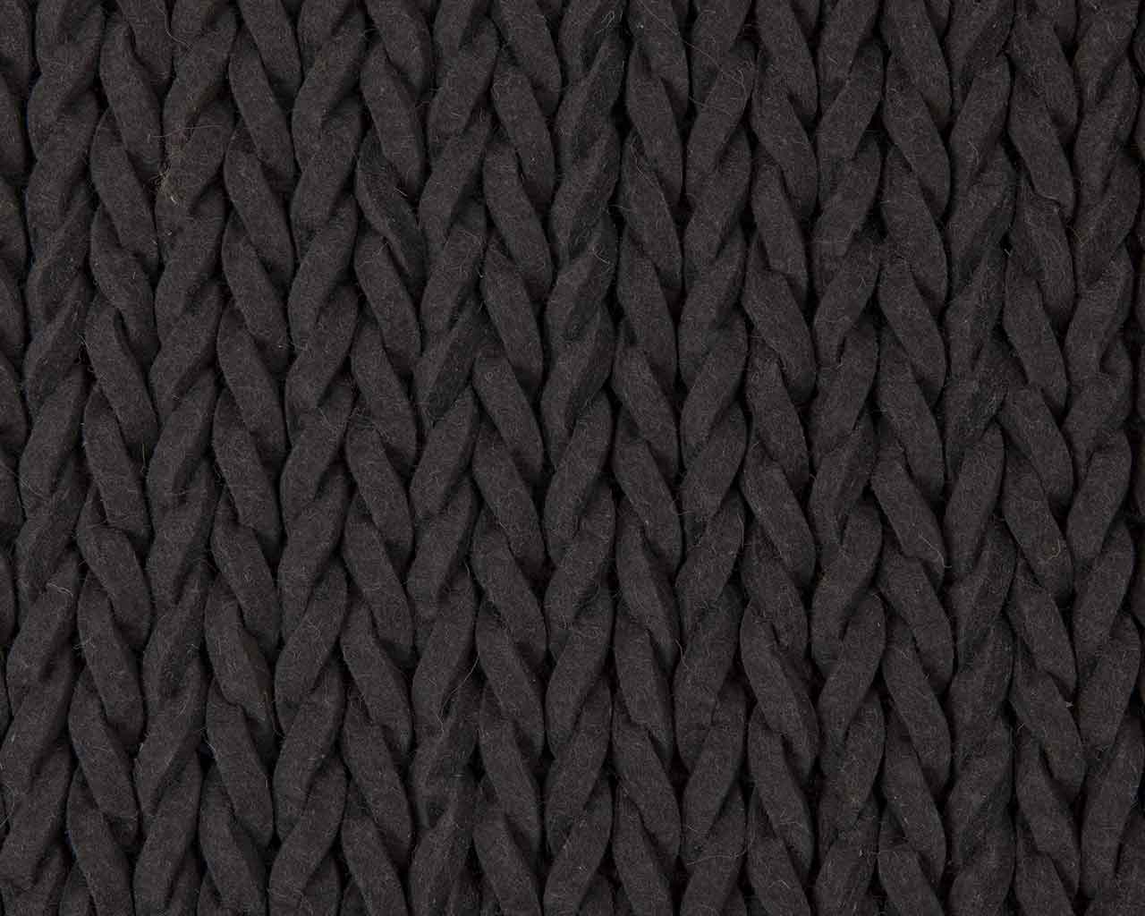 bathroom felted wool carpet black 1