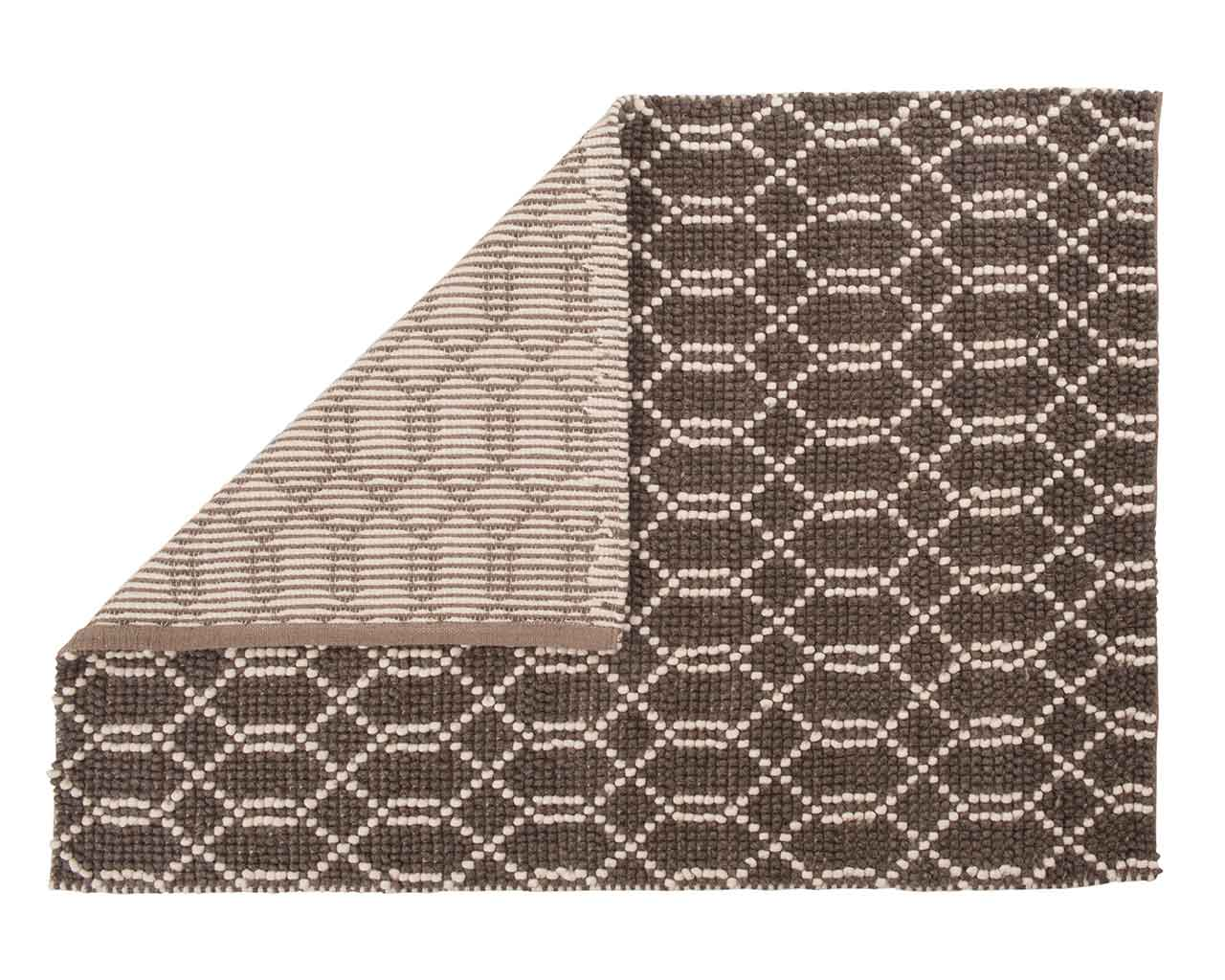 creatice folded soft wool rectanglecarpet sukhi pattern 1