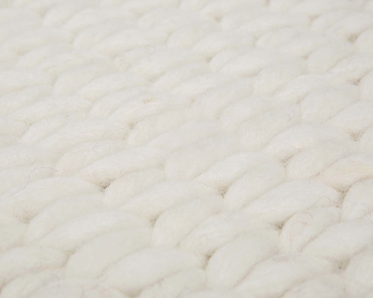 braided soft knitted white smoke wool modern style area carpets