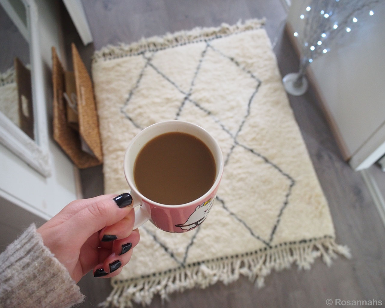 girl hand with black nail polish morocco fresh living room rugs