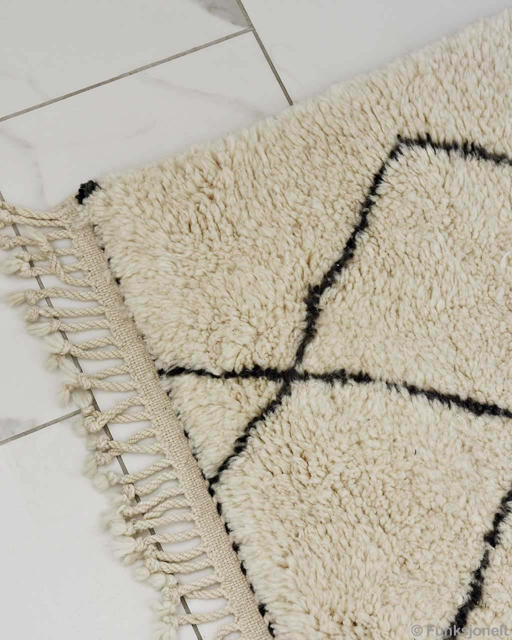 tiled white floor asian fresh beni ourain living room rugs