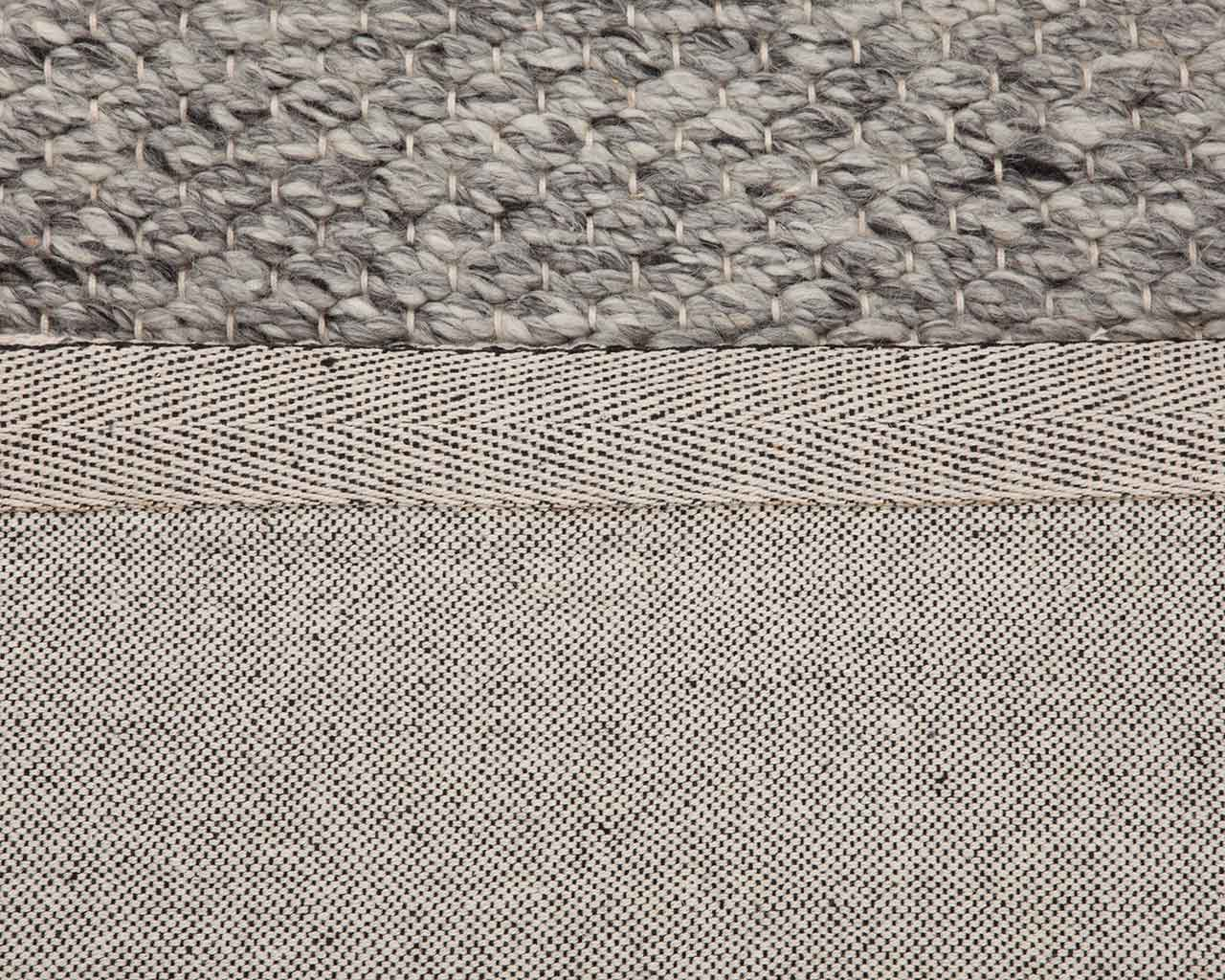 grey colored rugs folded backing anti slip 1