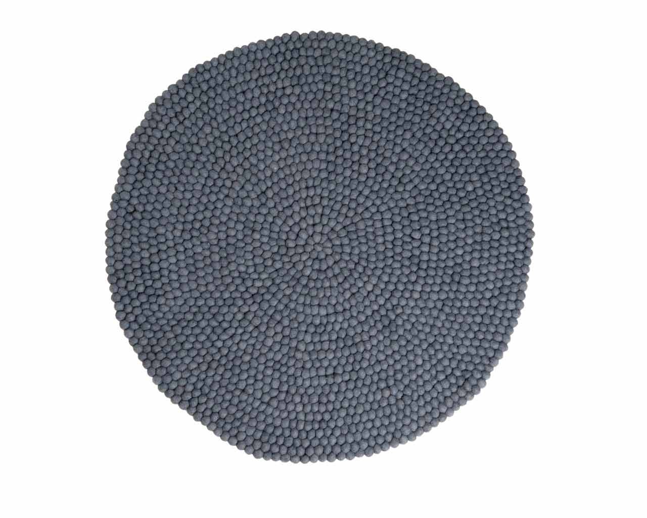 wool felted salon carpets round