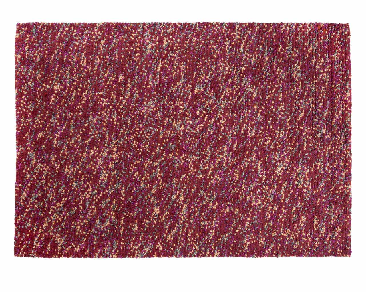 contemporary carpets red pink rectangular