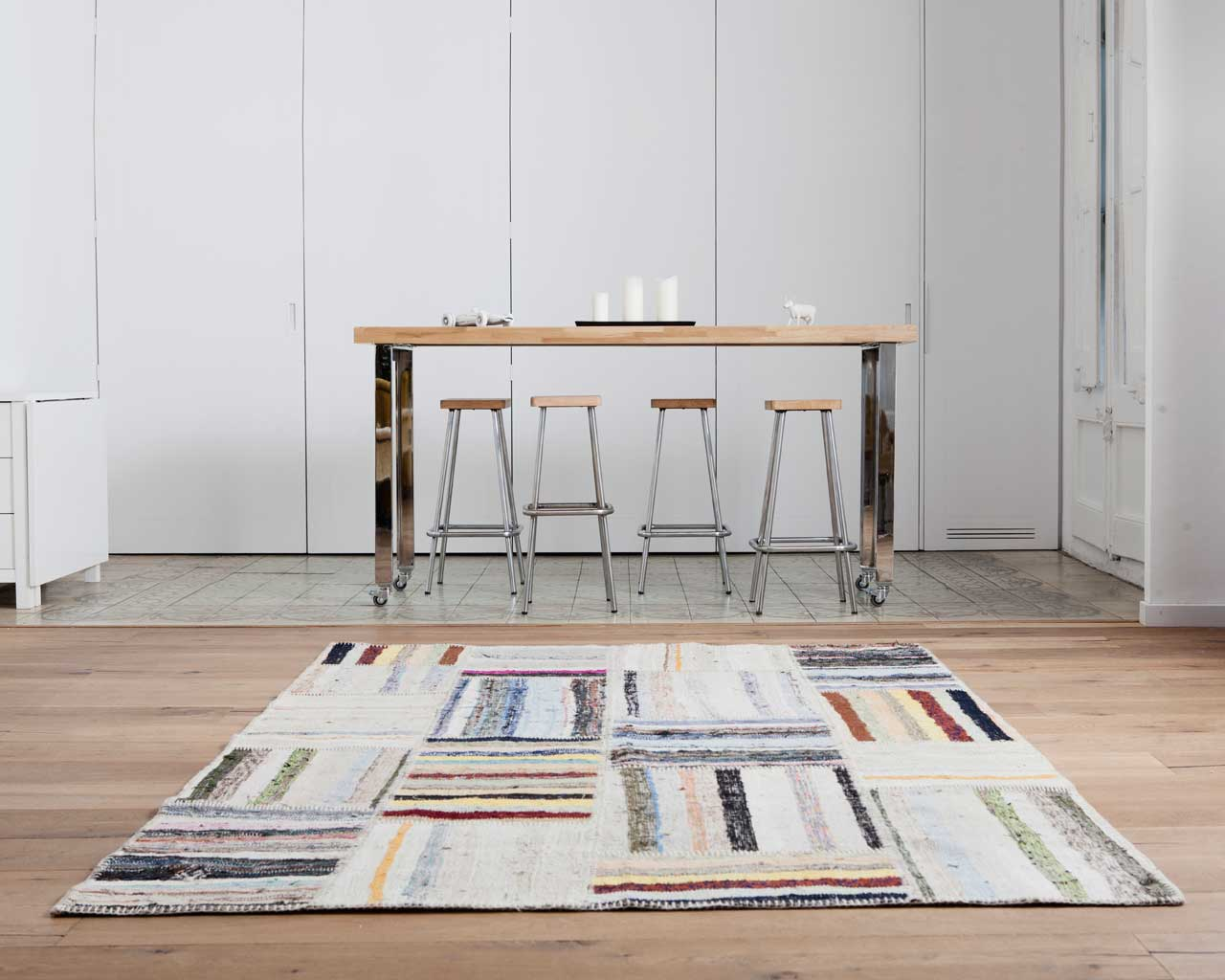soft pastel caput ragrug kitchen horizontal rug