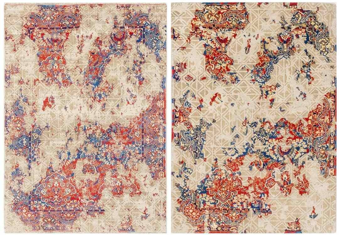 beautiful-multicolored-oriental-rug-CAD-drawing